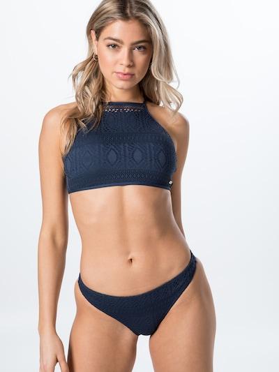 ROXY Bikini en bleu foncé, Vue avec modèle