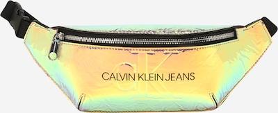Calvin Klein Jeans Torbica za okrog pasu 'Iridescent' | mešane barve barva: Frontalni pogled