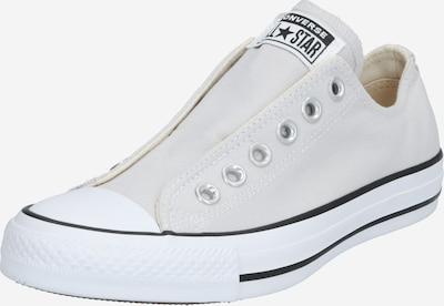 CONVERSE Sneaker 'CHUCK TAYLOR ALL STAR' in hellgrau / weiß: Frontalansicht