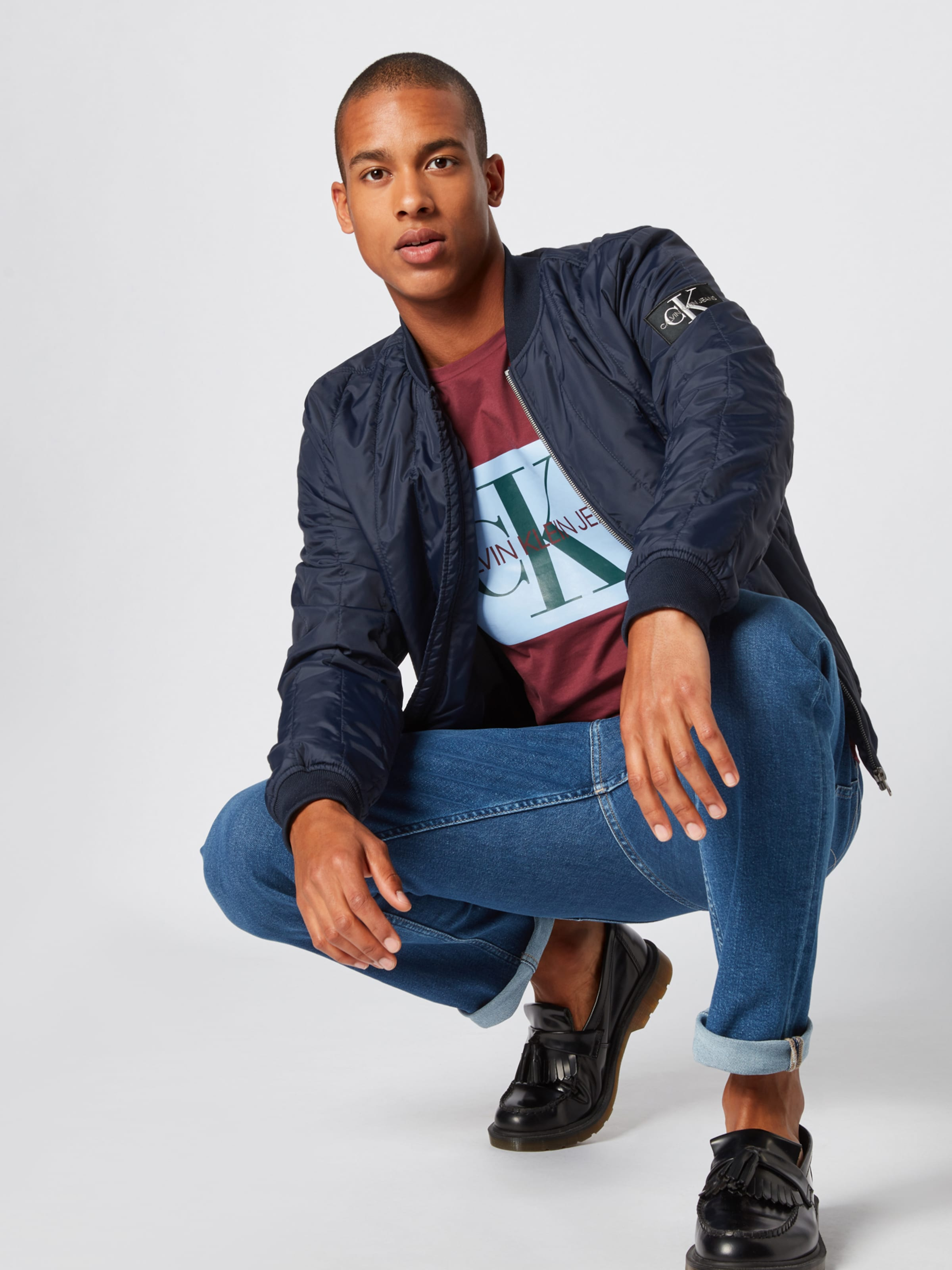 Jeans Calvin Blue In Denim Klein 'ckj 026' Omn0vNw8