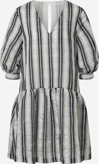 Samsoe Samsoe Kleid 'MILLO' in grau / schwarz / weiß, Produktansicht
