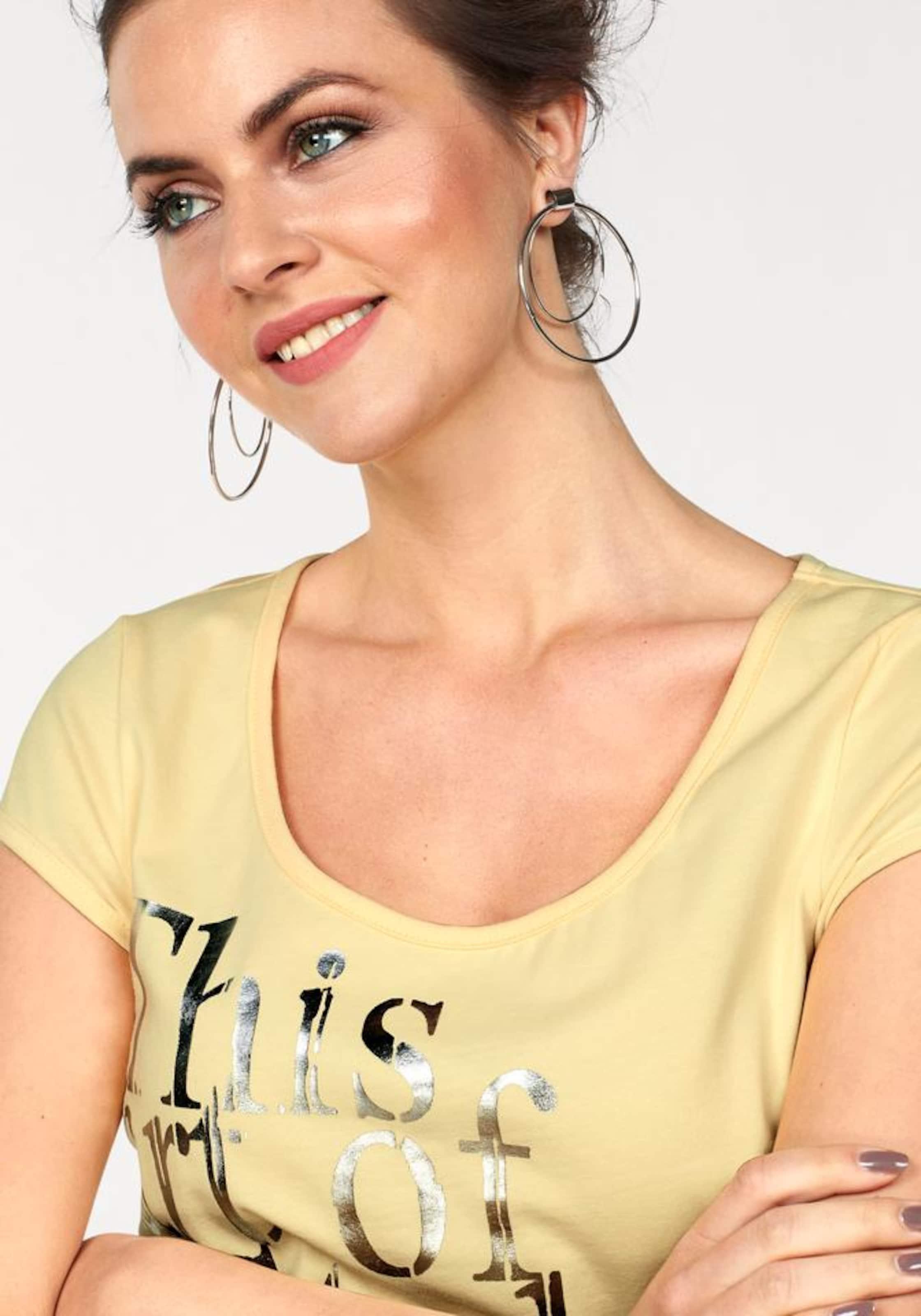 LAURA SCOTT Print-Shirt Online Günstig Online Rabatt Vorbestellen Rabatt Fälschung cFCu2f4S