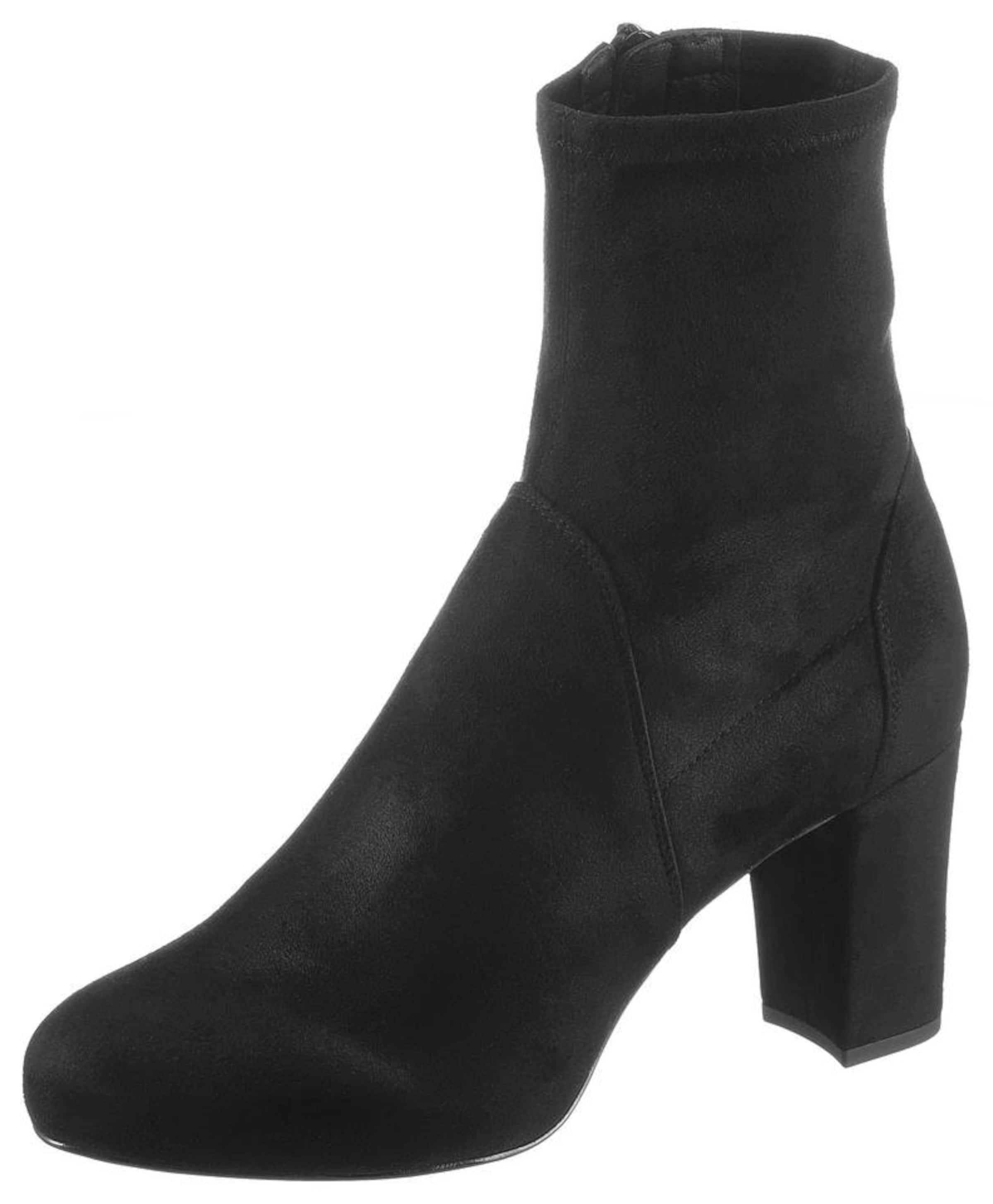 UNISA Stiefelette 'Nafre' in schwarz
