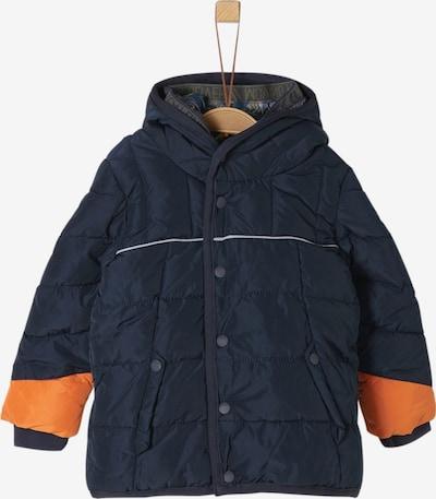 s.Oliver Jacke in dunkelblau / orange, Produktansicht