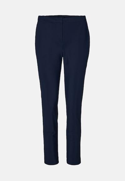 EVITA Pantalon à plis en bleu / bleu marine: Vue de face