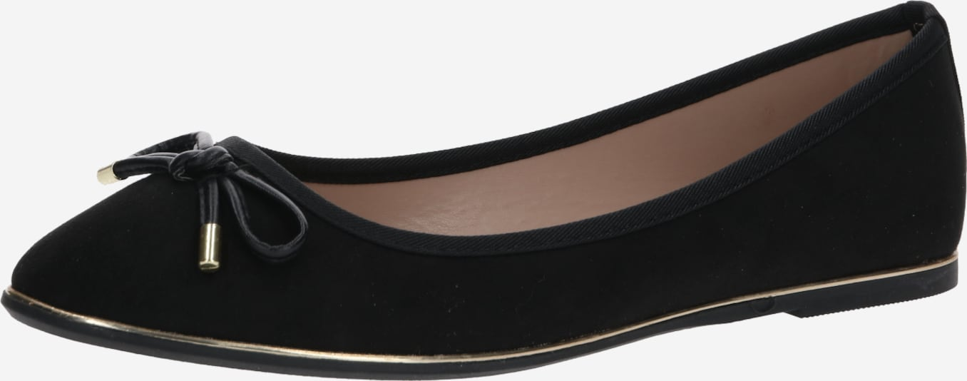 Dorothy Perkins Slipper 'PARTY' in schwarz, Produktansicht
