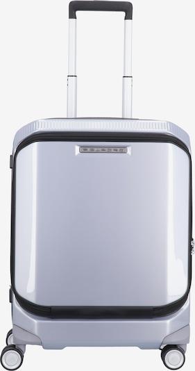 Piquadro Trolley 'Cubica' in silber, Produktansicht