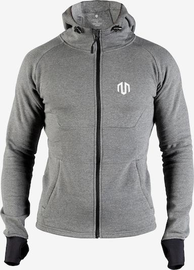 MOROTAI Sport-Sweatjacke 'Neotech Full Zip' in graumeliert, Produktansicht