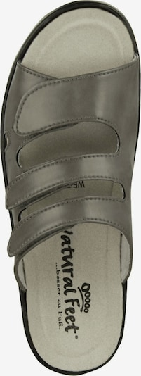 Natural Feet Sandaal 'Cornelia' in Donkergrijs qGWclnNw