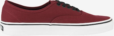 VANS Sneaker 'Authentic' in bordeaux: Seitenansicht