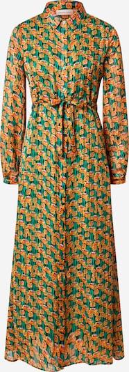Fabienne Chapot Košeľové šaty 'Frida' - kaki / oranžová: Pohľad spredu