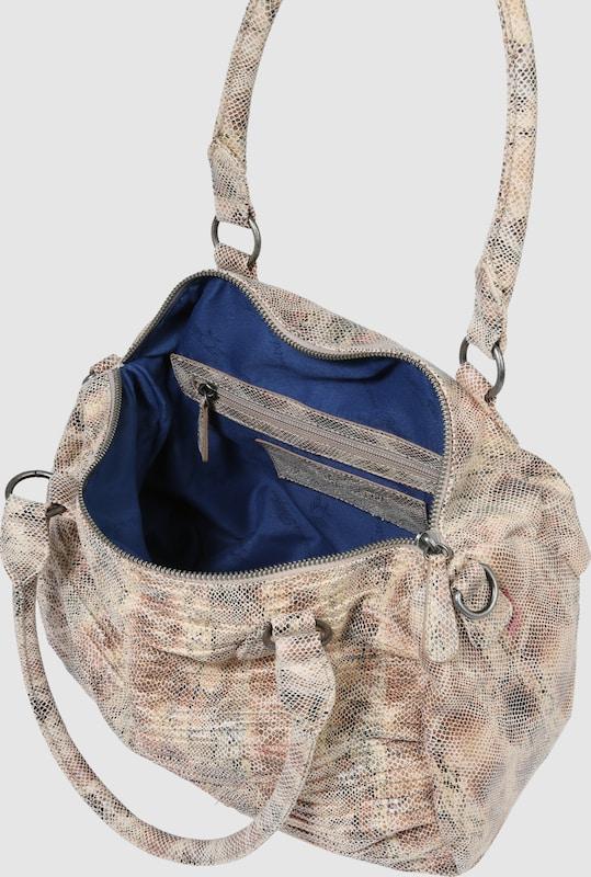 Fritzi aus Preußen Handtasche 'Delia' in Schlangen-Optik