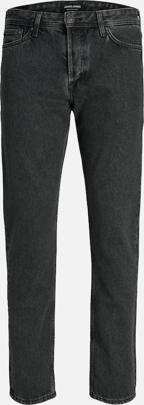 JACK & JONES CHRIS ORIGINAL CR 144 Loose Fit Jeans in black denim, Produktansicht