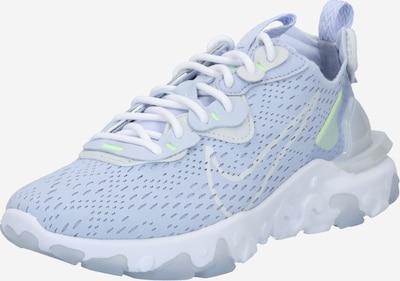 Nike Sportswear Tenisky 'React Vision' - kouřově modrá / svítivě zelená / bílá, Produkt