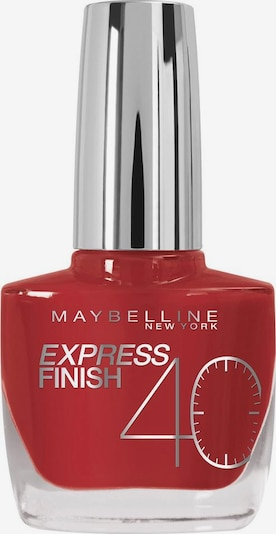 MAYBELLINE New York 'Nagellack Express Finish Shock Control', Nagellack in kirschrot, Produktansicht