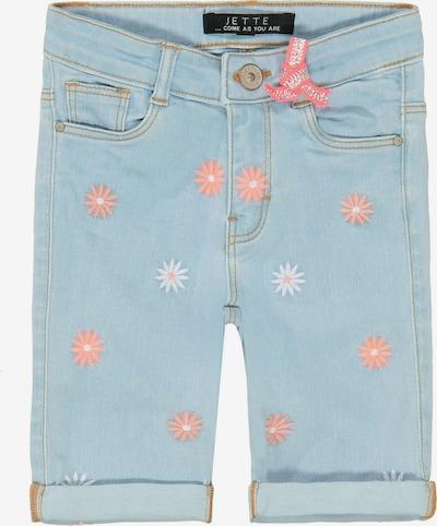 JETTE BY STACCATO Shorts in hellblau / altrosa / weiß, Produktansicht
