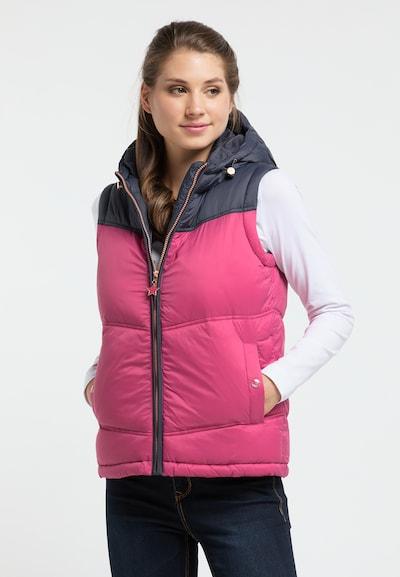 MYMO Weste in marine / pink, Modelansicht