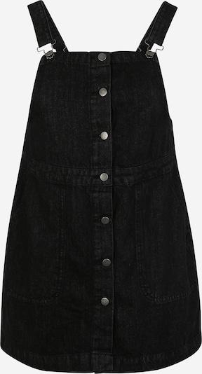 Urban Classics Curvy Jupe-salopette en noir denim, Vue avec produit
