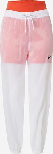 Pantaloni Nike Sportswear pe portocaliu / alb, Vizualizare produs