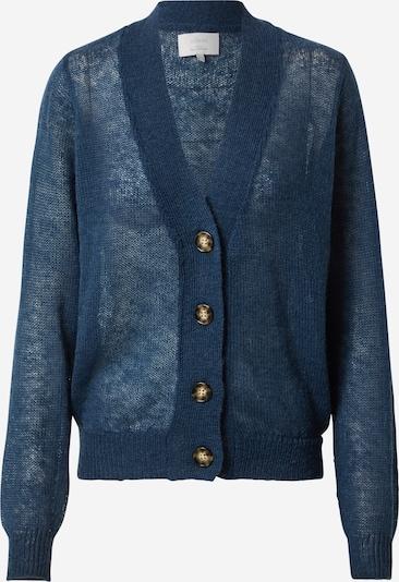 Geacă tricotată NÜMPH pe albastru închis: Privire frontală