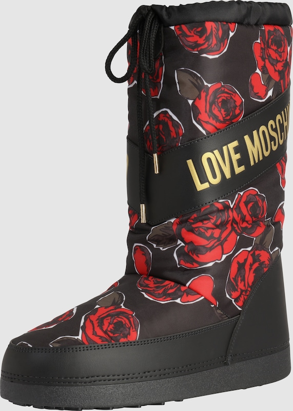 Love | Moschino | Love Snowboots  SKI FLOWER bef023