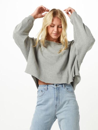 világosszürke AMERICAN VINTAGE Tréning póló: Elölnézet