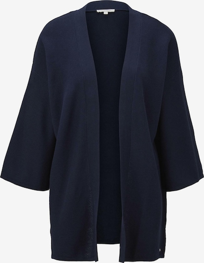 TOM TAILOR DENIM Kimono in navy, Produktansicht