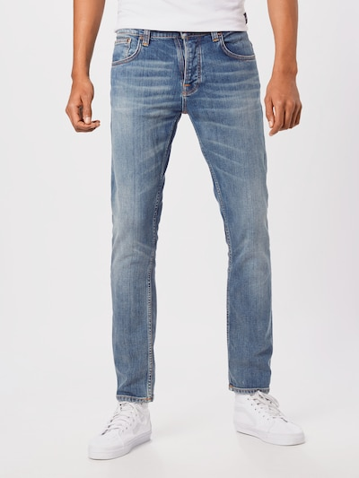 Nudie Jeans Co Jeans 'Grim Tim' in blue denim, Modelansicht