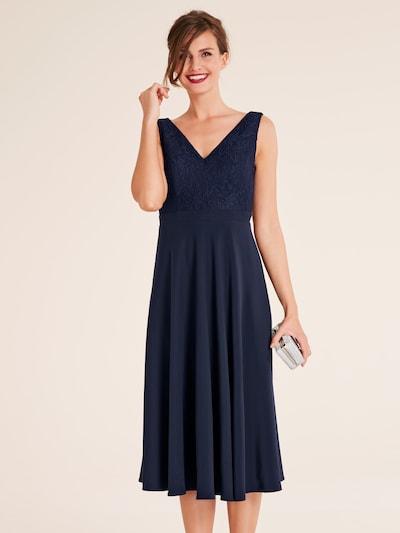 heine Suknia wieczorowa w kolorze niebieska nocm: Widok z przodu