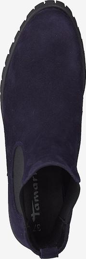 TAMARIS Chelsea boots in de kleur Navy / Zwart: Bovenaanzicht