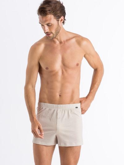 Hanro Boxershorts in beige, Modelansicht
