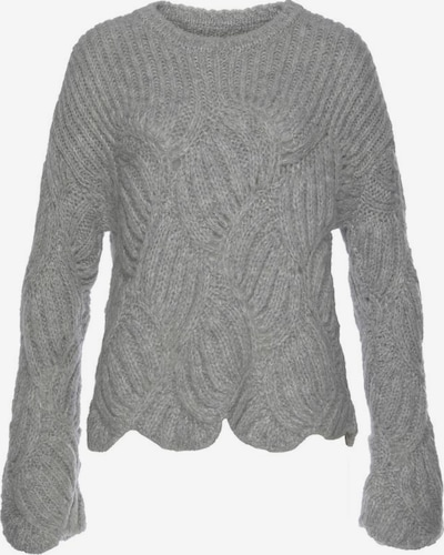 Herrlicher Pullover 'Tirina' in grau, Produktansicht