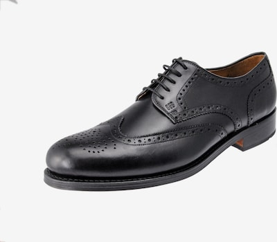 Gordon & Bros Schnürschuh in schwarz, Produktansicht