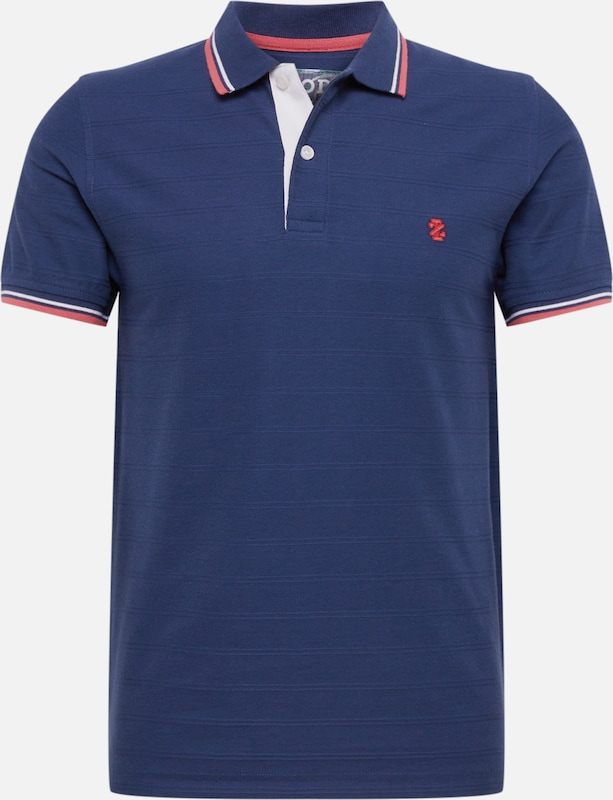 IZOD Poloshirt 'SOLID TIPPING POLO' in navy, Produktansicht