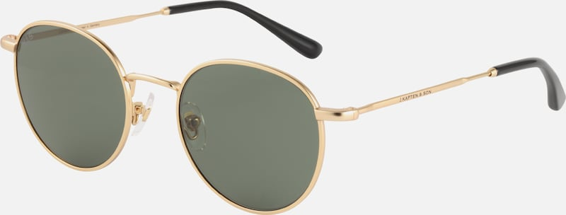 Kapten & Son Sonnenbrille 'London' in gold / grün, Produktansicht
