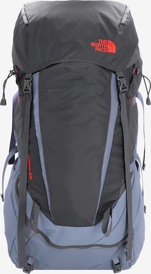 THE NORTH FACE Sac à dos de sport 'Terra 65' en bleu fumé / gris / rouge clair, Vue avec produit