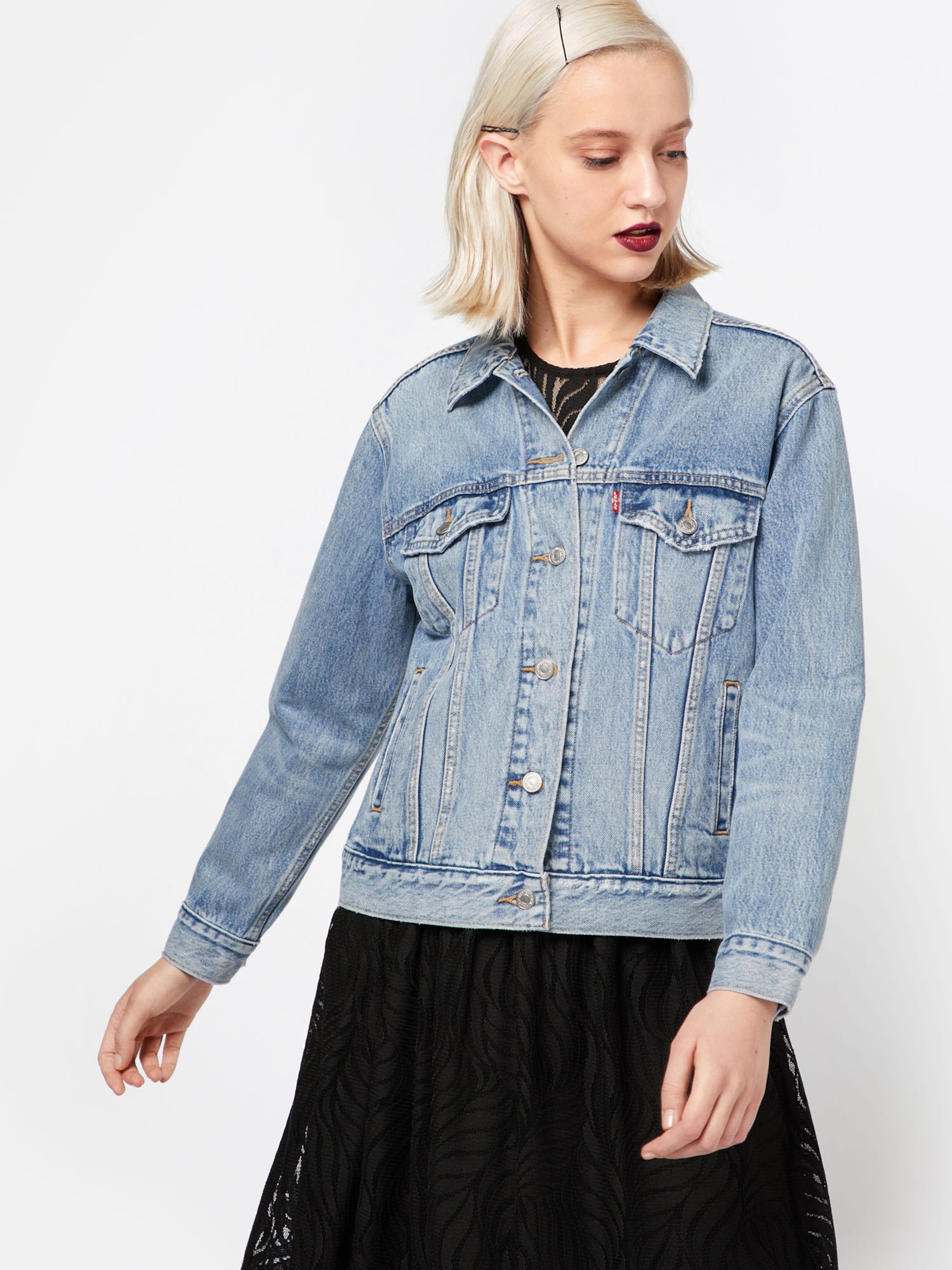 Extra kurze jeansjacke