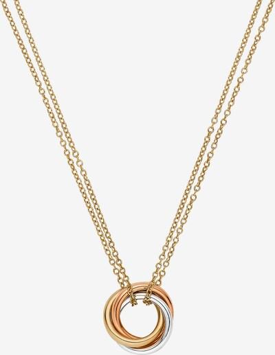 CHRIST Kette in gold / rosegold / silber, Produktansicht