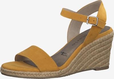 TAMARIS Sandale in senf, Produktansicht