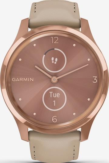 GARMIN Uhr in dunkelbeige / rosegold / rosa, Produktansicht