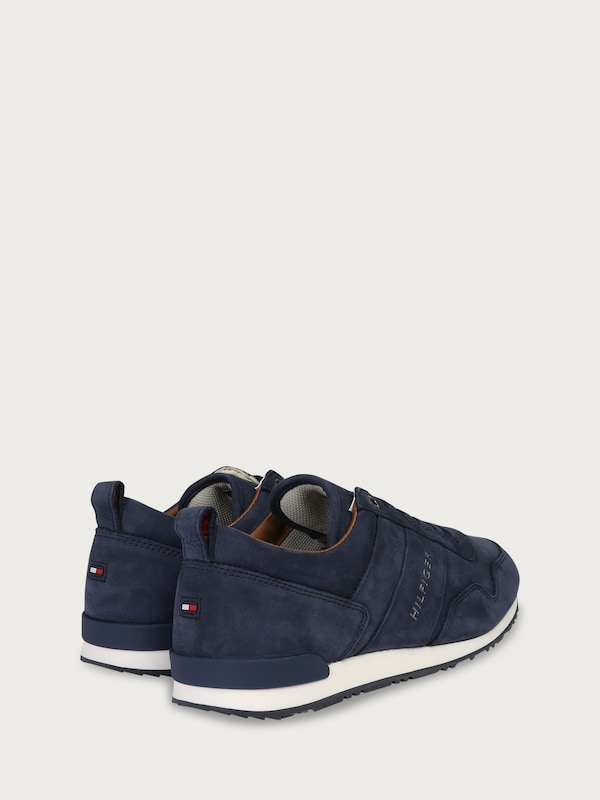 TOMMY HILFIGER Sneaker 'ICONIC NUBUCK LEATHER RUNNER'