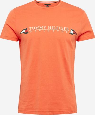 TOMMY HILFIGER T-Shirt 'Sailing Flags' en bleu / rouge orangé / blanc, Vue avec produit