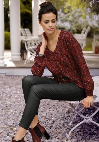 LASCANA Jeggings in schwarz, Modelansicht