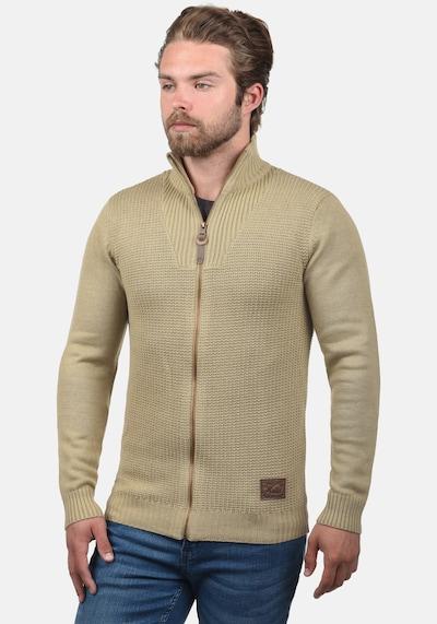 !Solid Strickjacke 'Tristan' in beige: Frontalansicht