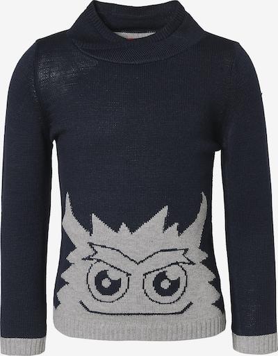 s.Oliver Junior Pullover in nachtblau / grau, Produktansicht
