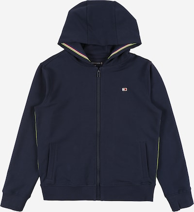 Hanorac TOMMY HILFIGER pe navy: Privire frontală