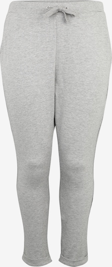 Urban Classics Curvy Hose 'Open Edge Terry Turn Up Pants' in graumeliert, Produktansicht