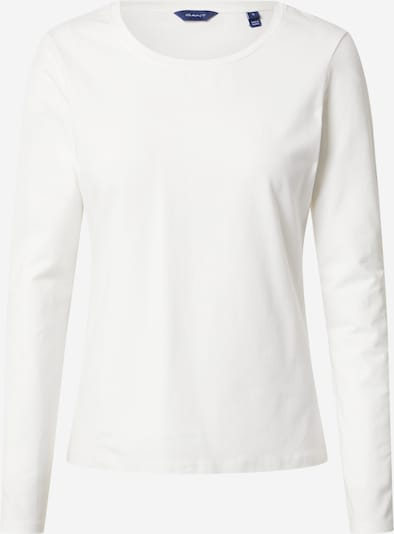Tricou GANT pe alb, Vizualizare produs