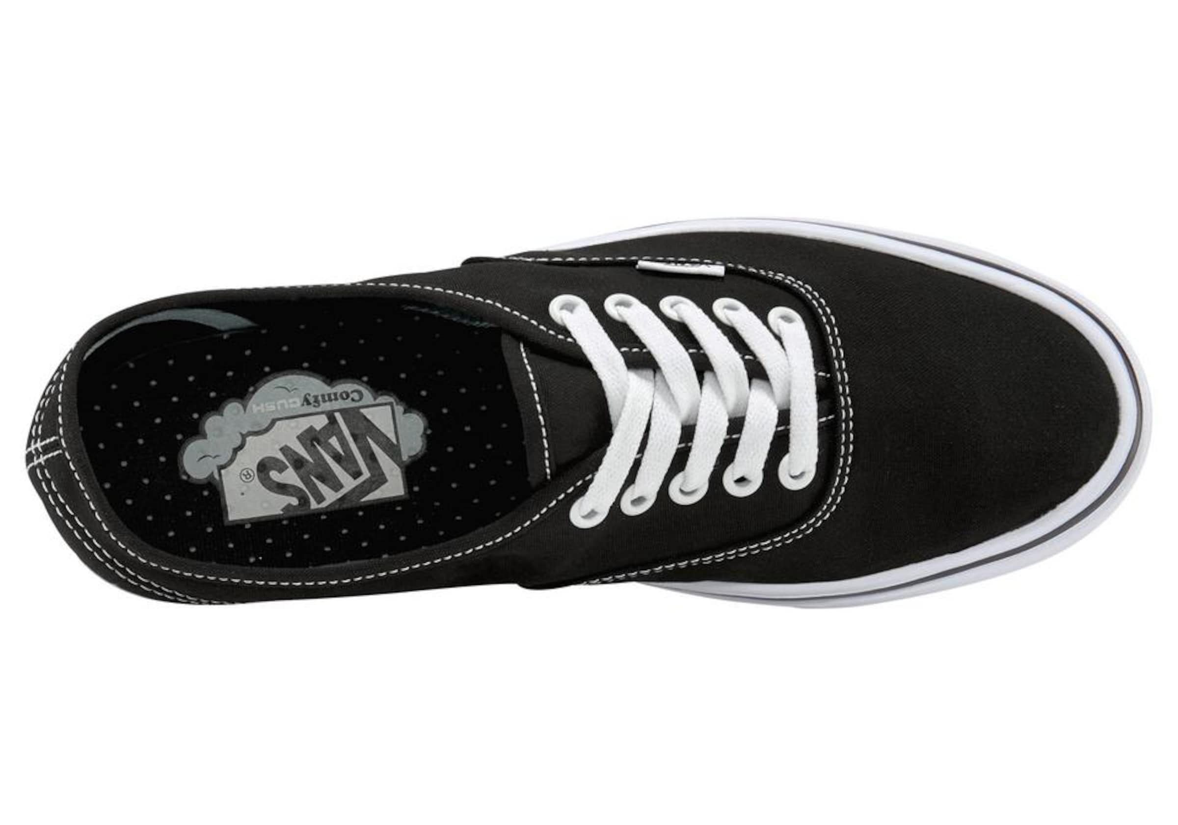 Vans Sneaker In SchwarzWeiß Authentic' 'comfycush YIbymv7f6g