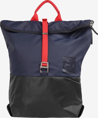 JACK WOLFSKIN Rucksack in dunkelblau / schwarz, Produktansicht